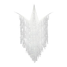 Fonte Di Luce LED Chandelier, Clear, Large