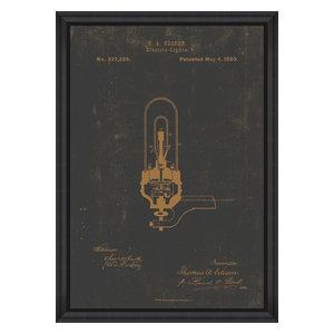 """Edison Electric Light"" Fine Art Print, 100x70 cm"