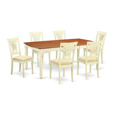 7-Piece Dinette Set  Dining Table And 6 Dining Chairs