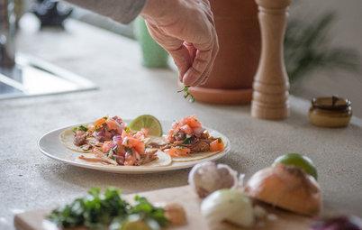 Recette de chef : Les savoureux tacos de Jordan Feilders