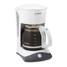 Mr. Coffee Coffeemaker, 12-Cup, White