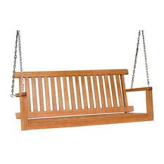 Columbia Wooden Outdoor Swing Seat