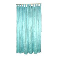 """Mogul Interior - Sari Curtains Panels Tap Top, Set of 2, 108"""" - Curtains"""