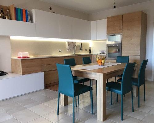 Cucine Moderne In Legno Naturale. Oasi Cucina Componibile With ...