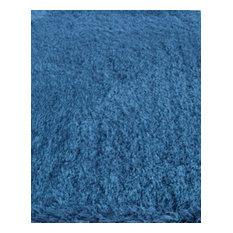 "Noble House Royal Shag ROY-403 7'9""x9'9"" Blue Rug"
