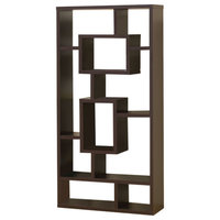 Aesthetic Fine Looking Rectangular bookcase, Brown