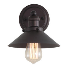 June Metal Vanity Light, Oil Rubbed Bronze, 7.75""