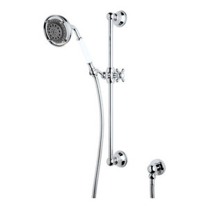 "Rohl Wall Mounted Hand, Polished Chrome, 4""x5""x24"""