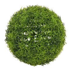 Three Hands Artificial Boxwood Ball, Green, 9""
