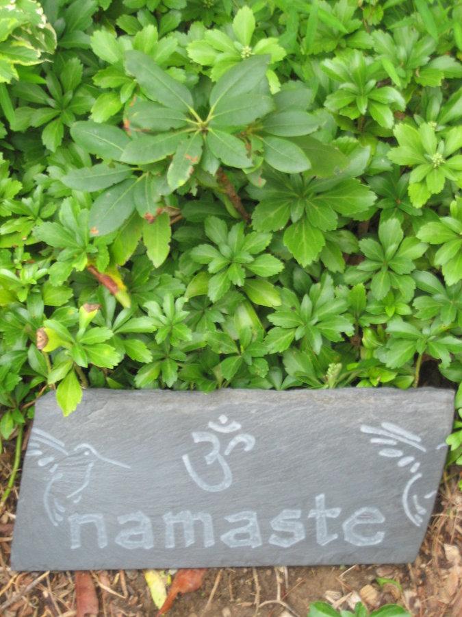 Stone Art for meditation garden