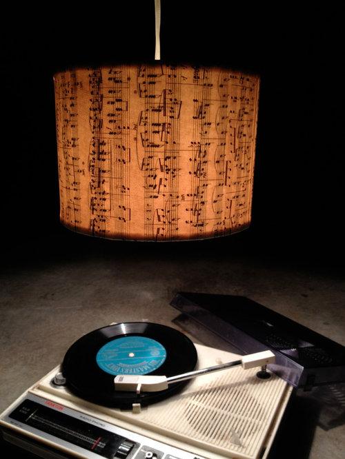 Music Note Shades - Pendant Lighting