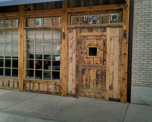 Reclaimed Barn Door Design Ideas From Projects In Nyc New Jersey