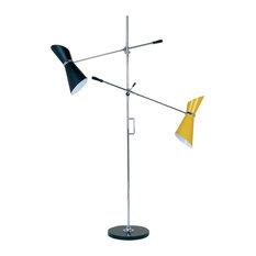 Adjustable Stilnovo 2-Light Floor Lamp