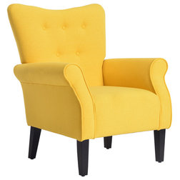 Contemporary Armchairs And Accent Chairs by OneBigOutlet