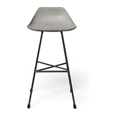 Hauteville Counter Chair Black Legs