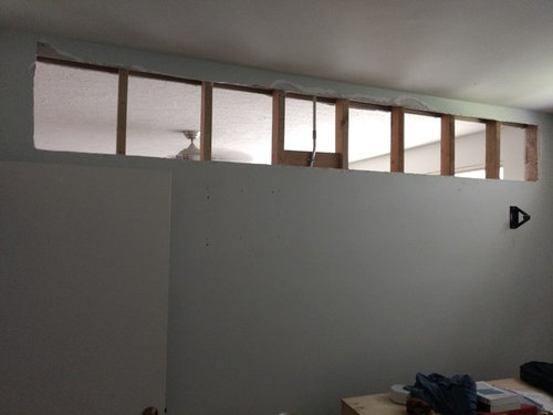 Ideas For Interior Transom On Partition Wall