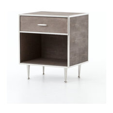 Azalea Bedside Table Stainless