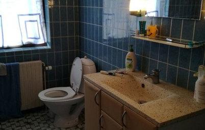 Dit dilemma: Hvordan opdaterer man 70'er-badeværelser på budget?