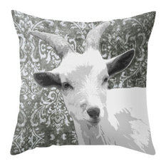 Goat Grey Pillow Cover, 20x20