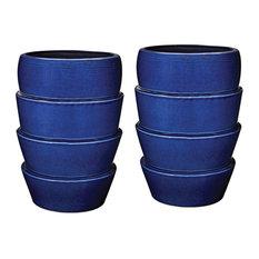 Dimond Home Denim Crackle Layered Vessels - Short