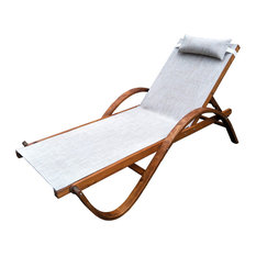 Reclining Sling Chaise Lounge