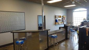 Airgas Reception Desk