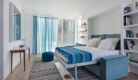 Хороший вопрос: Как спрятать кровать в однокомнатной квартире