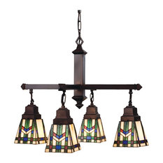 "Meyda 26"" Prairie Wheat 4-Light Chandelier"