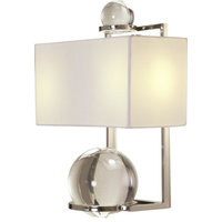 Fortune Teller Sconce, Polished Stainless Steel