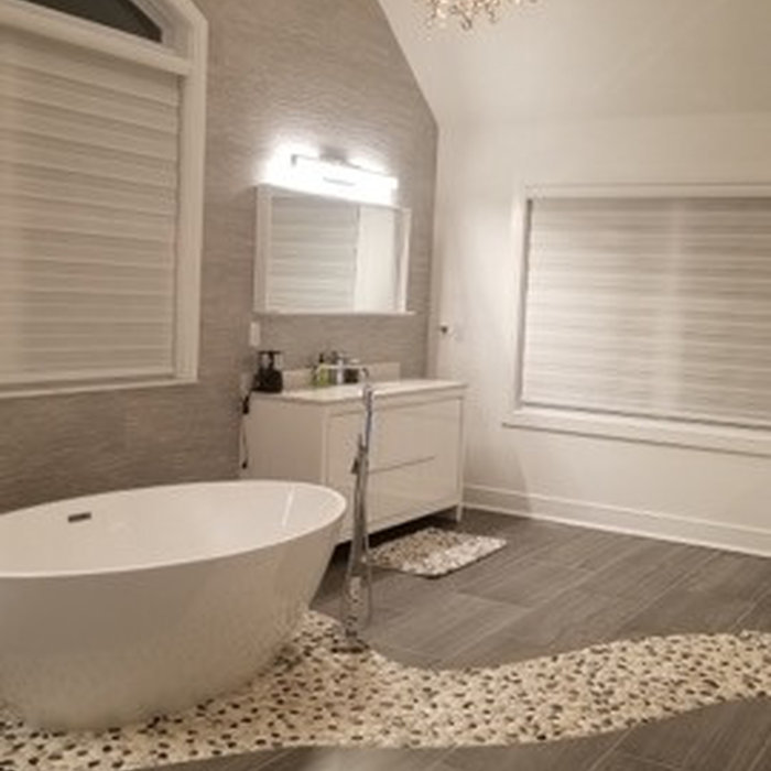 Bathroom Remodel Designed by Joseph Esposito with Maxsam Sales