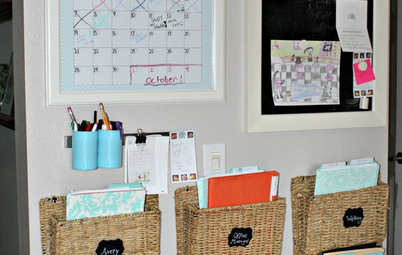 8 Inexpensive Routes to a Family Organizing Station