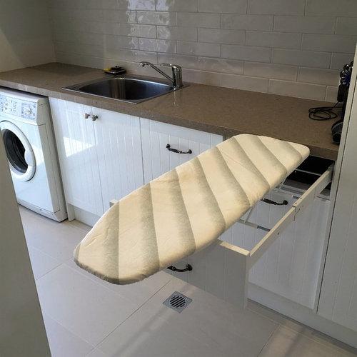buanderie avec un vier 1 bac photos et id es d co de buanderies. Black Bedroom Furniture Sets. Home Design Ideas