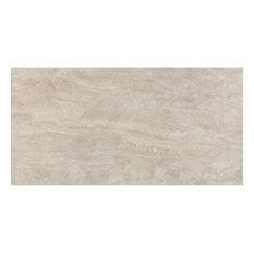 "12""x24"" Beige Natural-Rectified Field Tiles, Set of 6"
