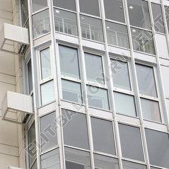 """Фасадное остекление. фото объектов """"элит-балкон""""."""