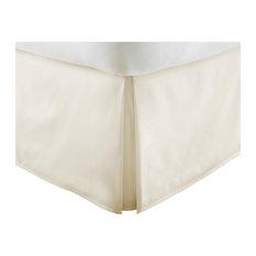 ienjoy home home collection ultrasoft luxury bed skirt dust ruffle cream - Dust Ruffles