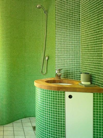 Современный Ванная комната by David Churchill - Architectural  Photographer