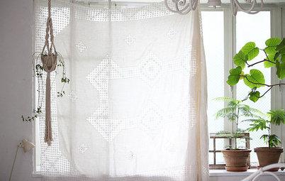 簡単DIY:「カーテンなし」で、ナチュラルにあしらう窓まわり
