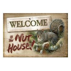 Custom Printed Rugs - Custom Printed Rugs DM 52 Nut House Doormat - Doormats