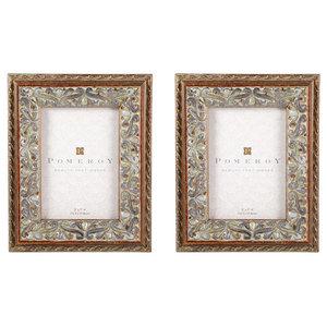 Pomeroy Montague Frames 5 X7 Set Of 2 Antique Sequoia