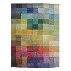 Palette Handwoven Floor Rug, 60x110 cm