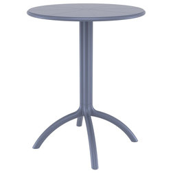 Contemporary Outdoor Pub And Bistro Tables by Serenity Health & Home Decor