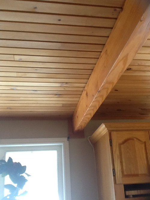 Need Tips On Painting Our Pine Ceiling