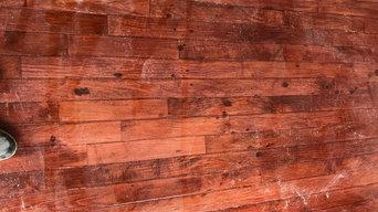 Maple floors refinished
