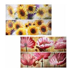 Oil Painting Flower 4 Styles
