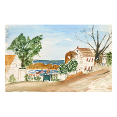Eve Nethercott, Rockport, P6.38, Watercolor Painting