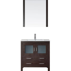 Vintage Contemporary Bathroom Vanities And Sink Consoles by Virtu Usa Inc
