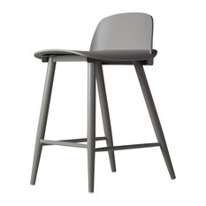 Soco Counter Stool Gray