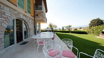 Villetta sul lago di Garda
