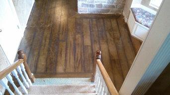 wood grain concrete