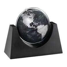 "Renaissance, 6"" Slate Gray Desk Globe"